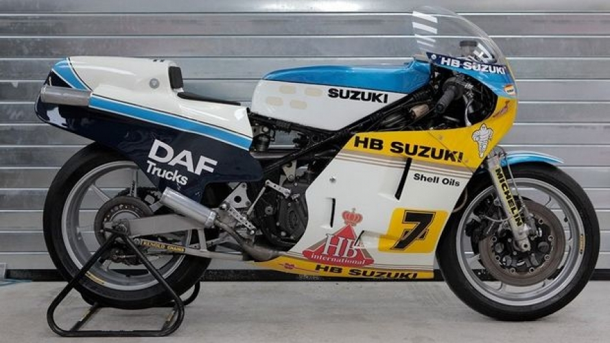 All'asta su Ebay l'ex RGB 500 di Barry Sheene