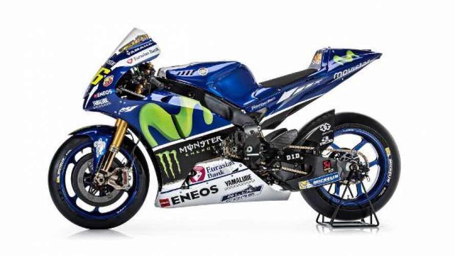 MotoGP: ecco la nuova Yamaha M1 2016
