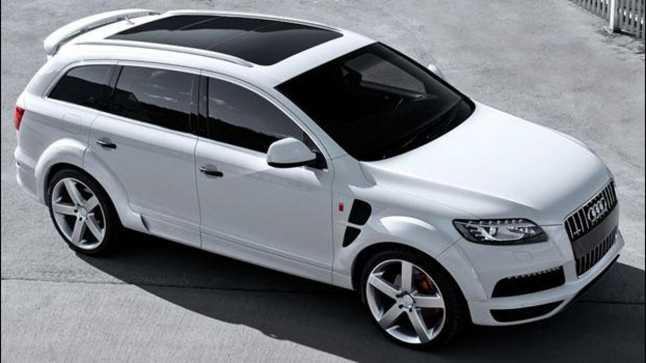 [Copertina] - Audi Q7 quattro 3.0 diesel S-line Wide Track by Kahn Design