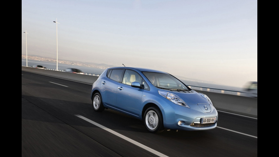 Nissan Leaf in Svizzera costa 36.622 euro