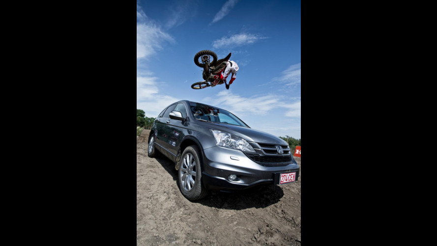 Honda CR-V vs Honda CRF 450R
