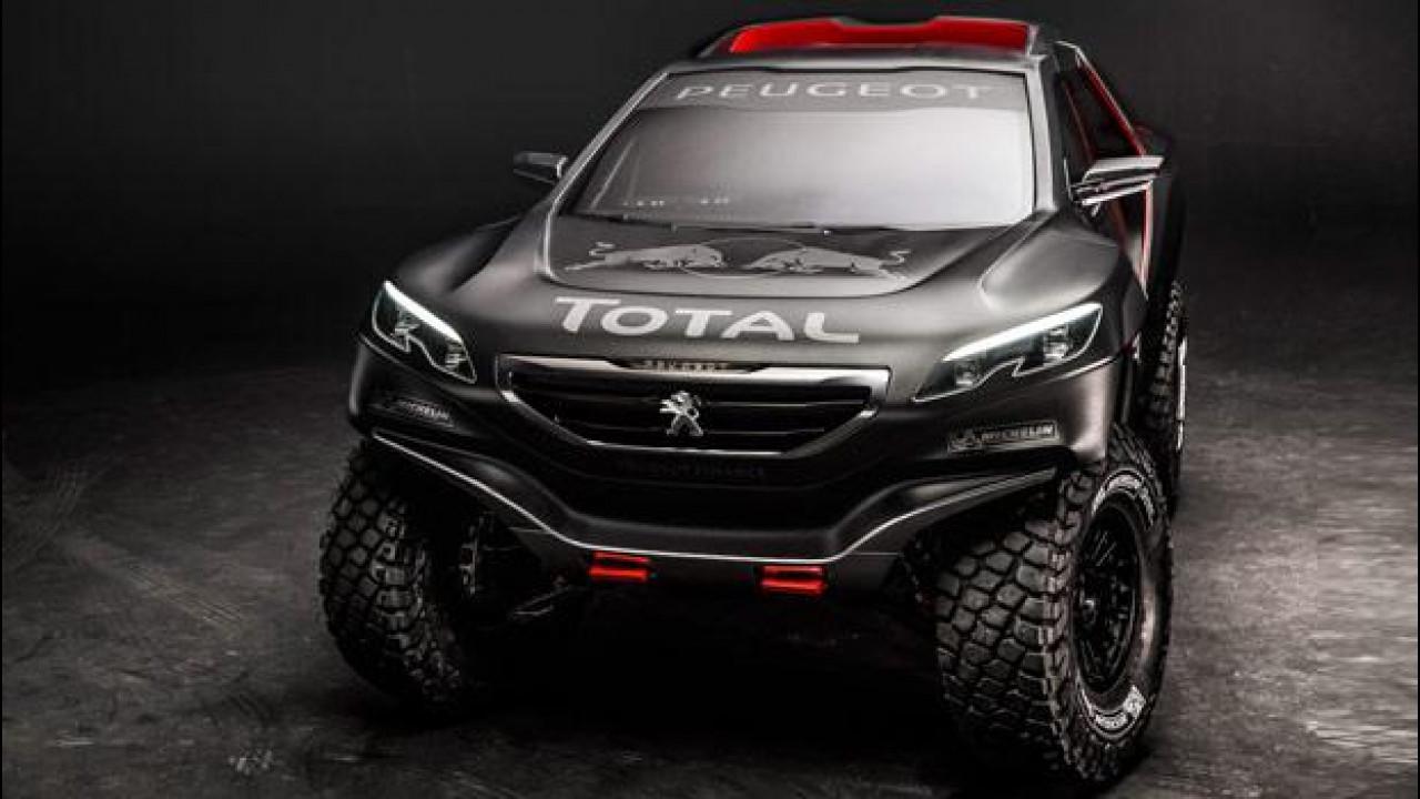 [Copertina] - Peugeot trasforma la 2008 nella DKR per la Dakar 2015