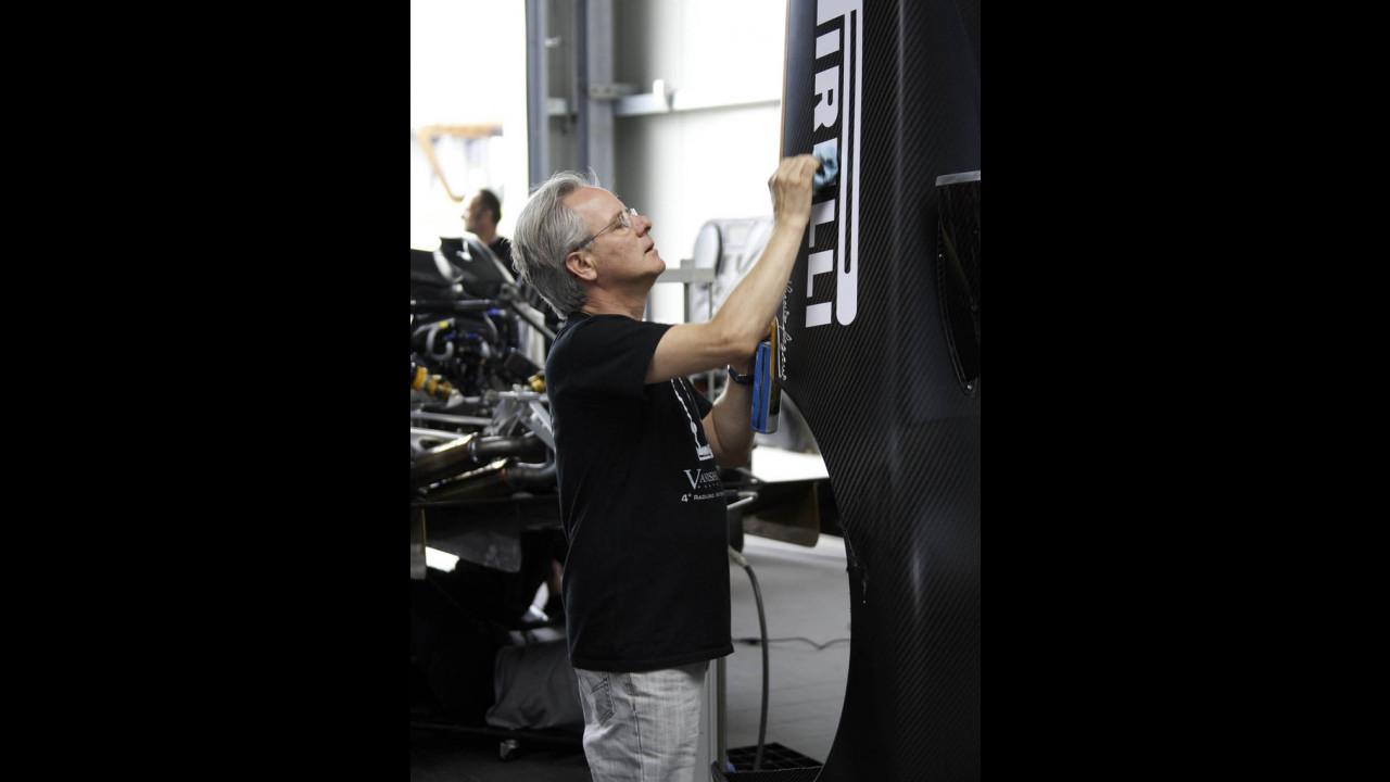 Pirelli P Zero Slick per la Pagani Zonda R da record al Nurburgring