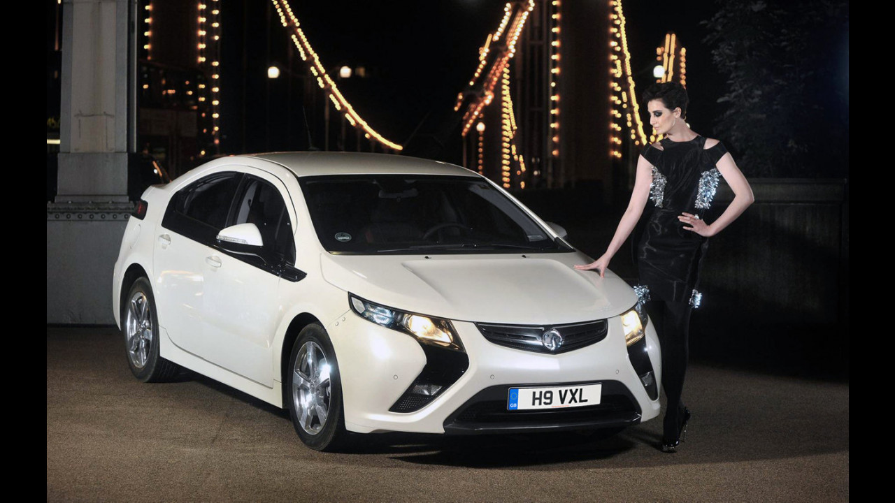 Vauxhall Ampera, l'abito di William Tempest