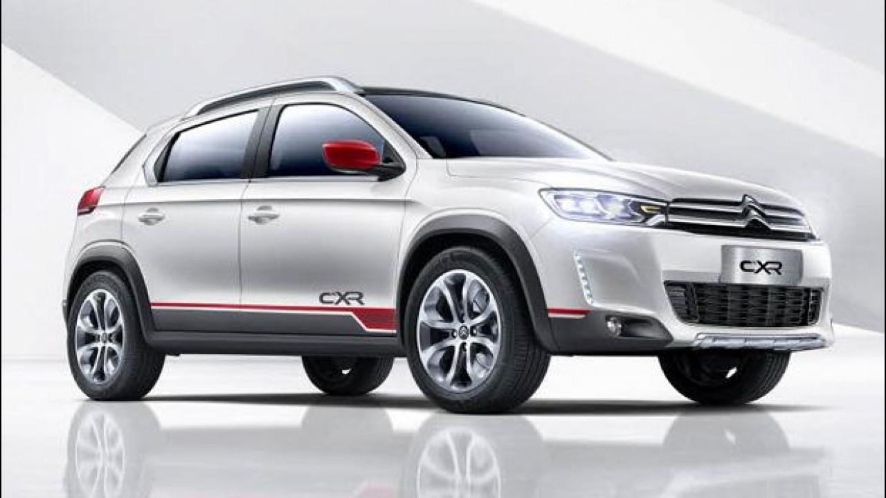 [Copertina] - Citroen C-XR Concept, il prossimo SUV cinese