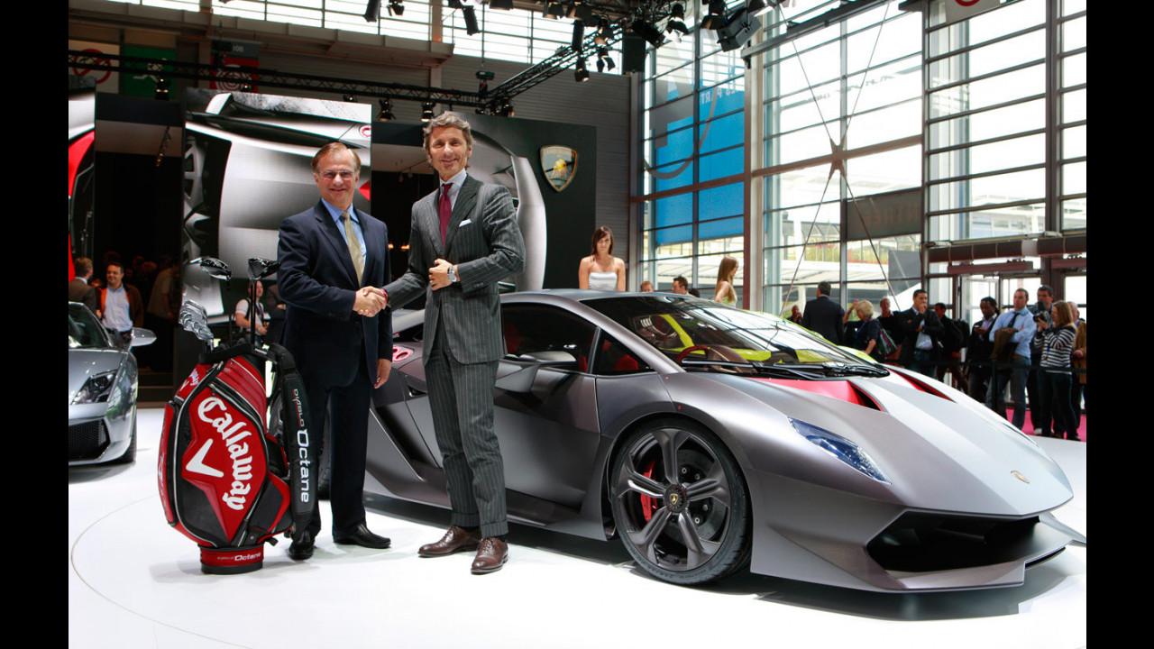 Lamborghini e Callaway presentano il