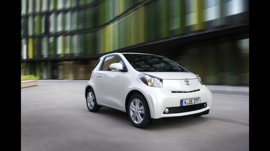 Toyota iQ model year 2011