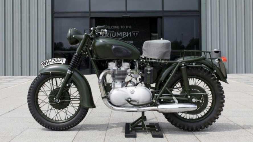 Triumph, ad Hinckley spunta la moto di McQueen