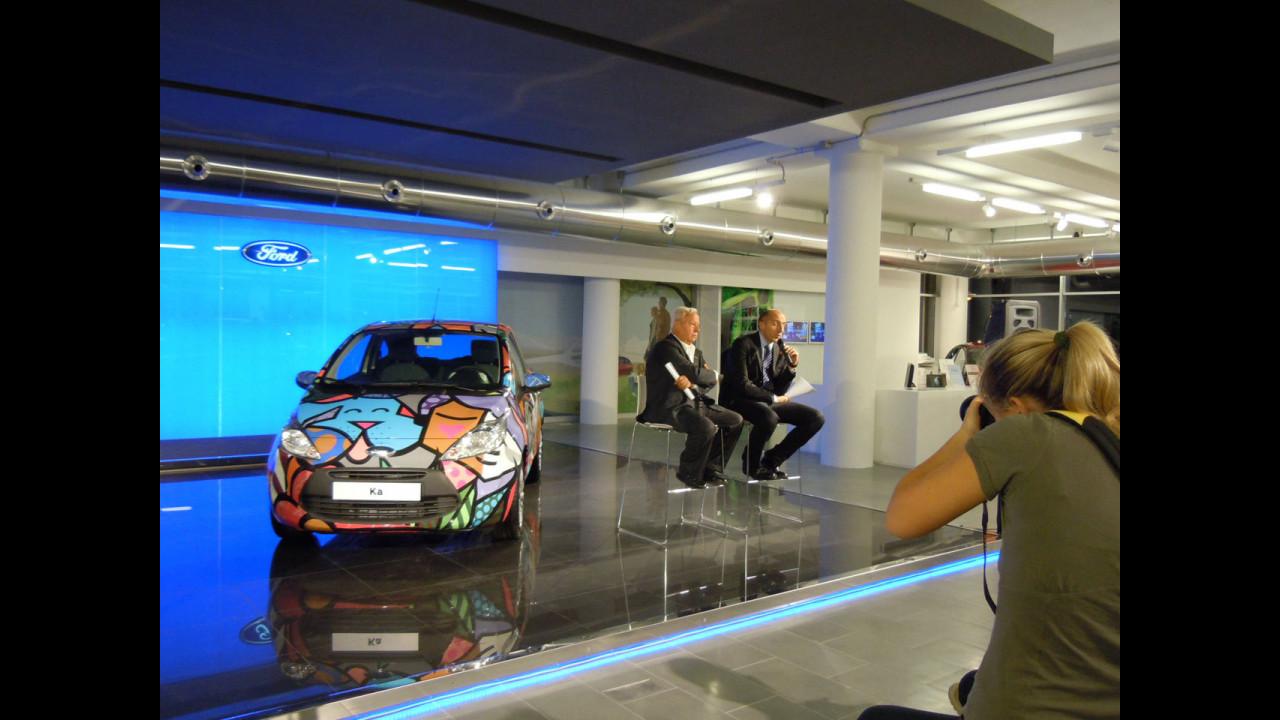 FordStore Carpoint, Roma - L'inaugurazione