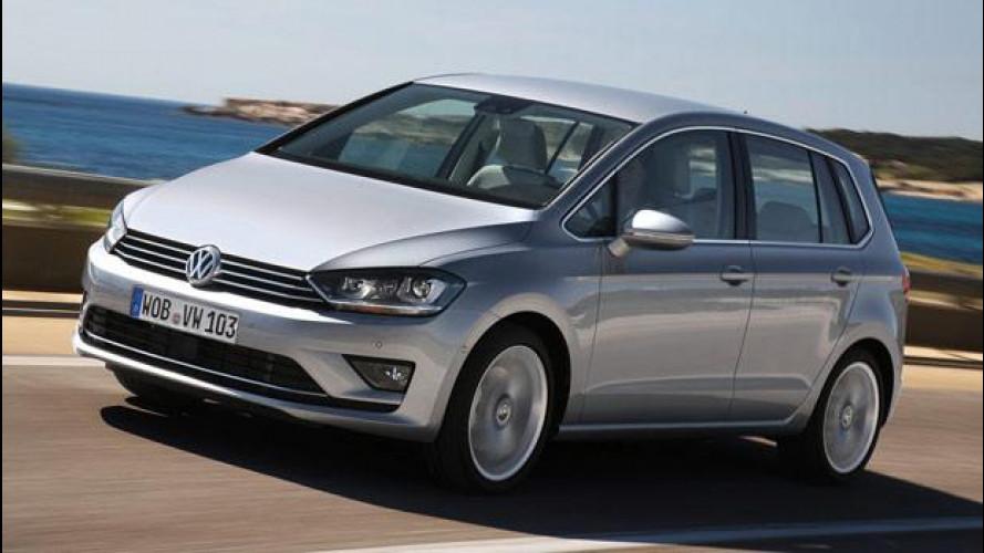Volkswagen Golf Sportsvan, spaziosa e tutta da guidare