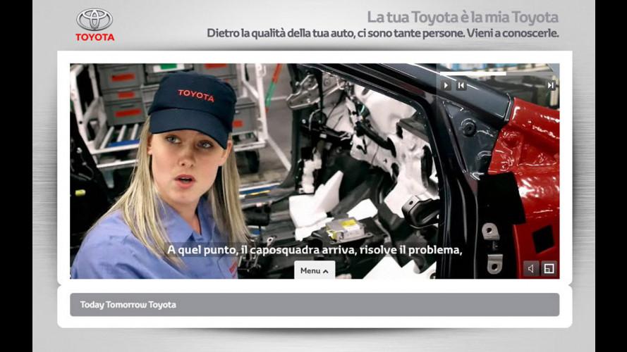 """""""La tua Toyota è la mia Toyota"""""""