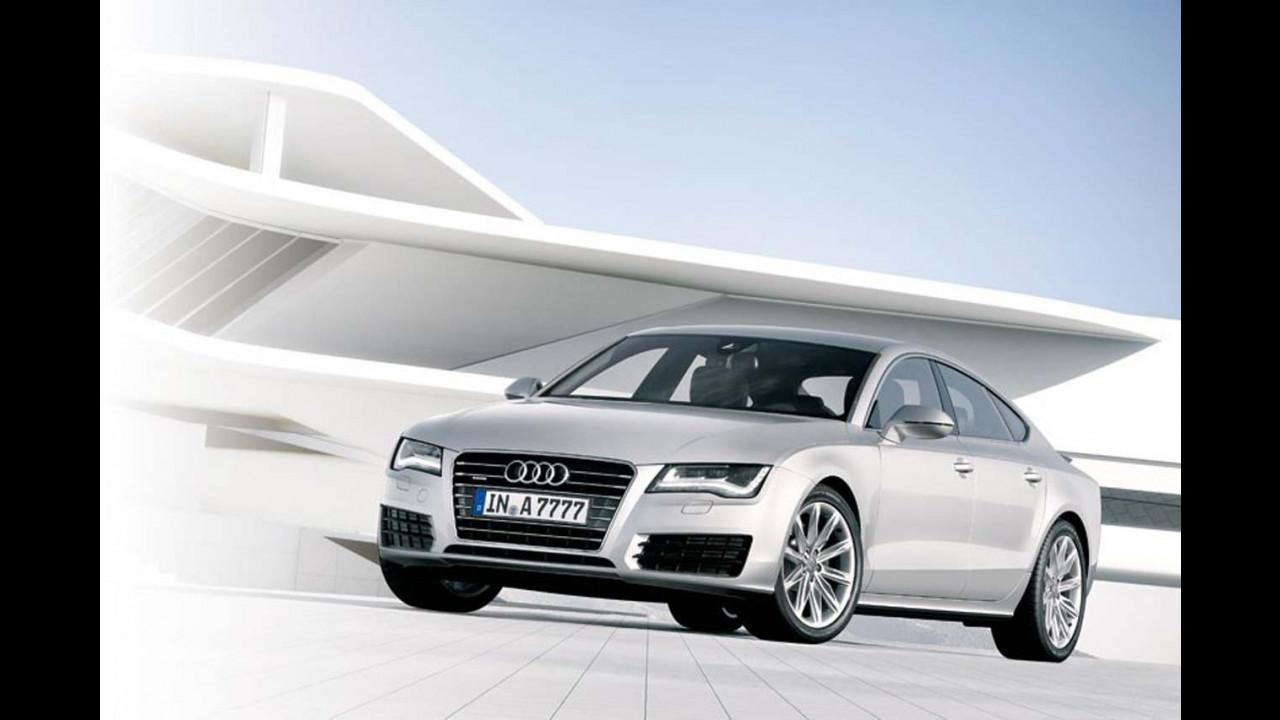 Audi A7 Sportback: le prime immagini
