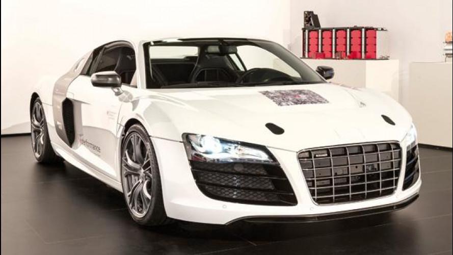 Audi F12 concept: il futuro delle auto elettriche sportive