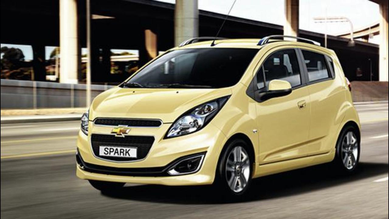 [Copertina] - Chevrolet Spark model year 2013