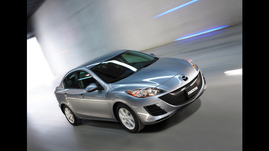 Mazda3 Sedan al Salone di Los Angeles