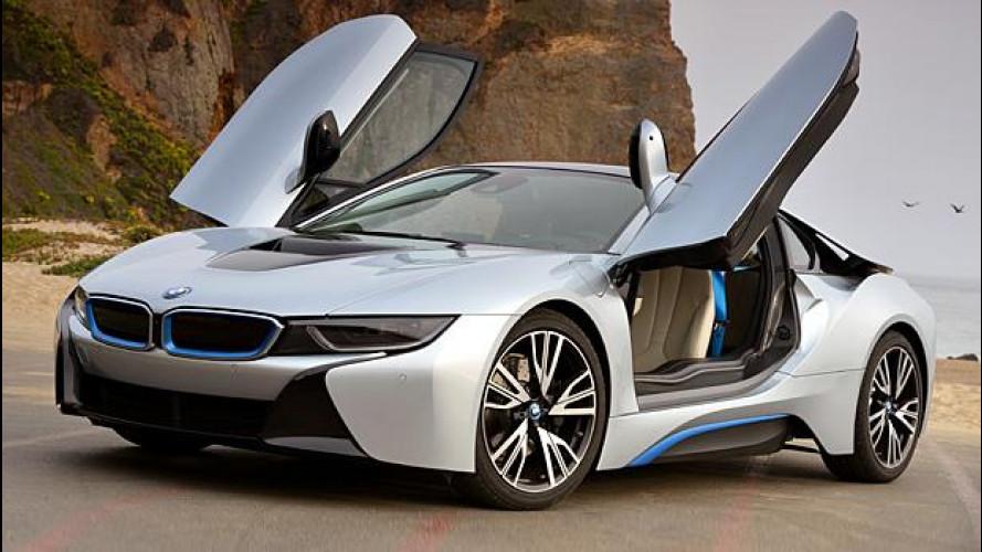 BMW i8, prezzo da 132.500 euro