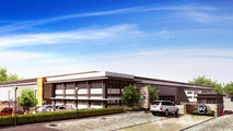 JLR Special Vehicle Operations Technical Center rendering