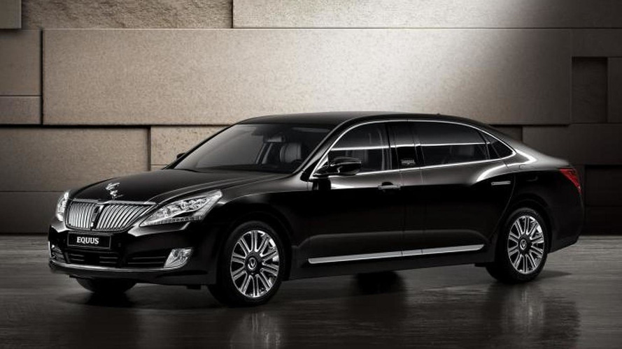 Hyundai Equus Limousine to be revealed at Moscow Motor Show