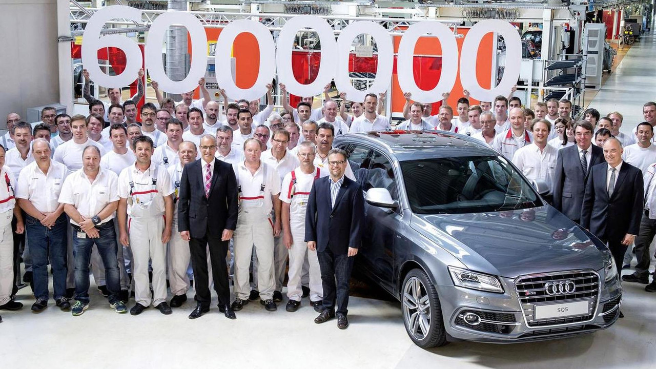 SQ5, the six millionth Audi with quattro all-wheel drive