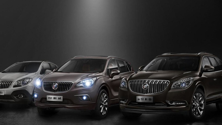 2015 Buick Envision gets detailed