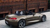 2017/2018 BMW Z4 roadsterartist rendering