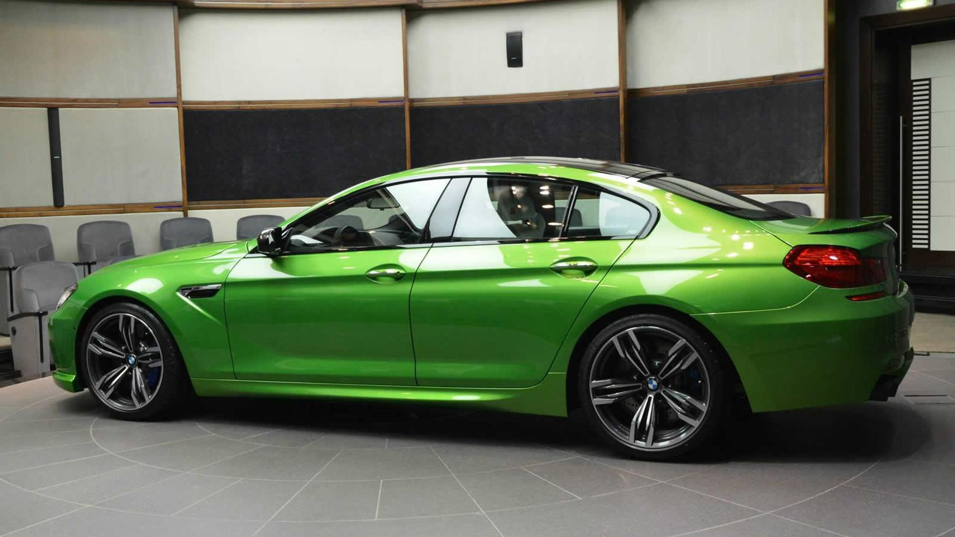 Bmw M6 Gran Coupe >> Heavily Modified Bmw M6 Gran Coupe In Java Green Looks Like No Other