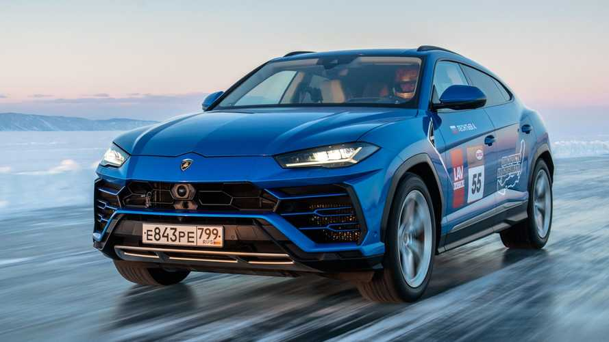 Lamborghini Urus Sets Speed Record On Ice After Hitting 185 MPH
