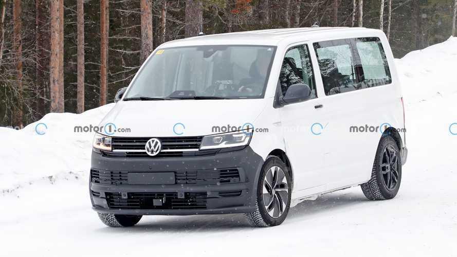 VW ID Buzz Test Mule Spy Photos
