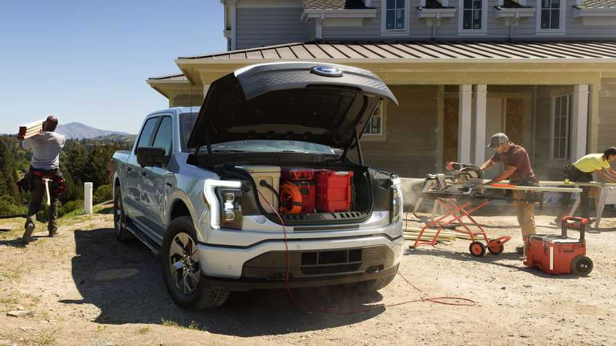 Ford F-150 Lightning Power Export Outlets And Home Backup Power