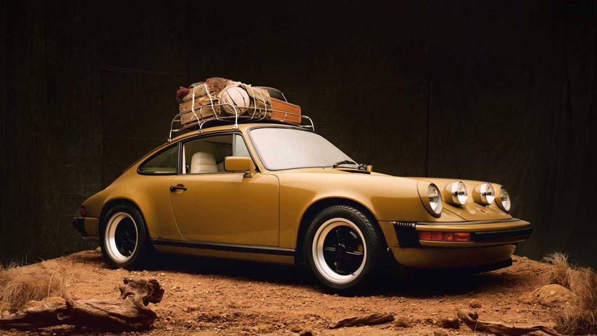 Restored Porsche 911 Super Carrera x Aimé Leon Dore