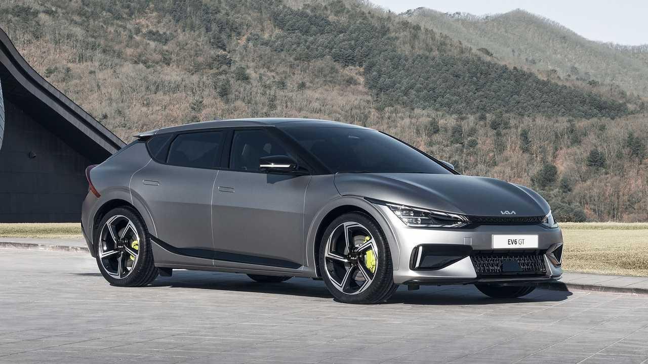 Kia EV6 GT Ön
