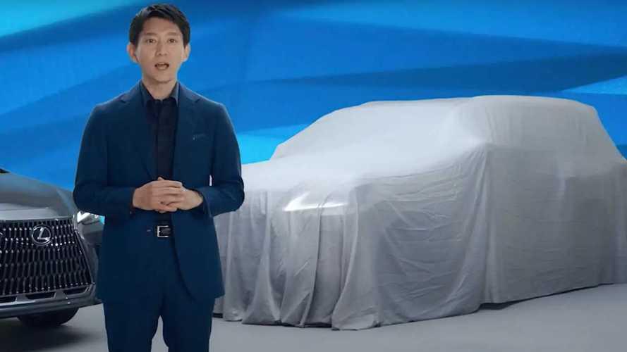 Новый Lexus LX станет мощным гибридом