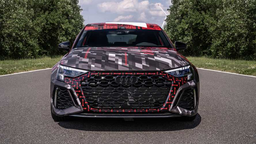 2022 Audi RS3 Sportback and RS3 Saloon shot by Auditography