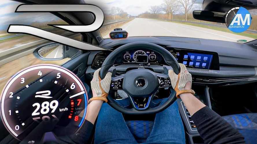 Vidéo - La VW Golf 8 R lancée à 290 km/h sur l'autobahn