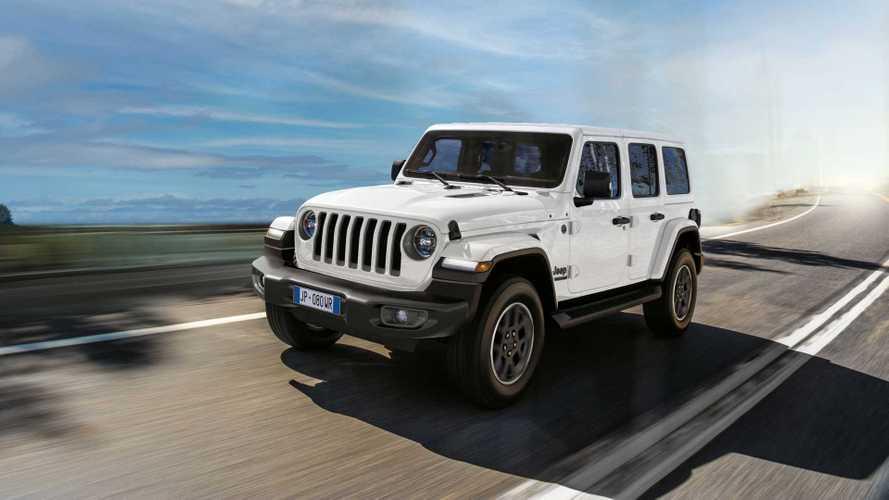 В России стартовали продажи юбилейного Jeep Wrangler