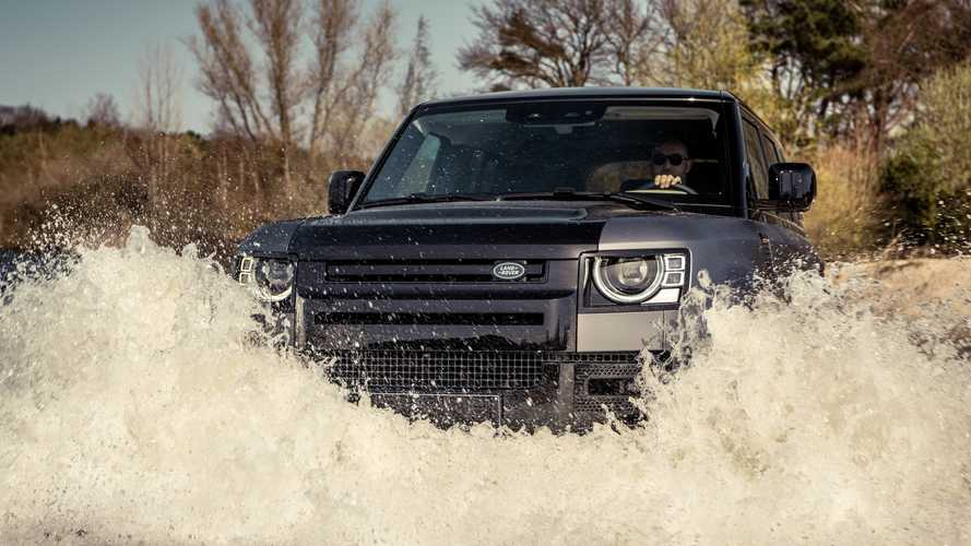 Land Rover Defender Valiance by Heritage Customs