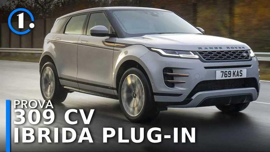 Range Rover Evoque, prova della ibrida plug-in