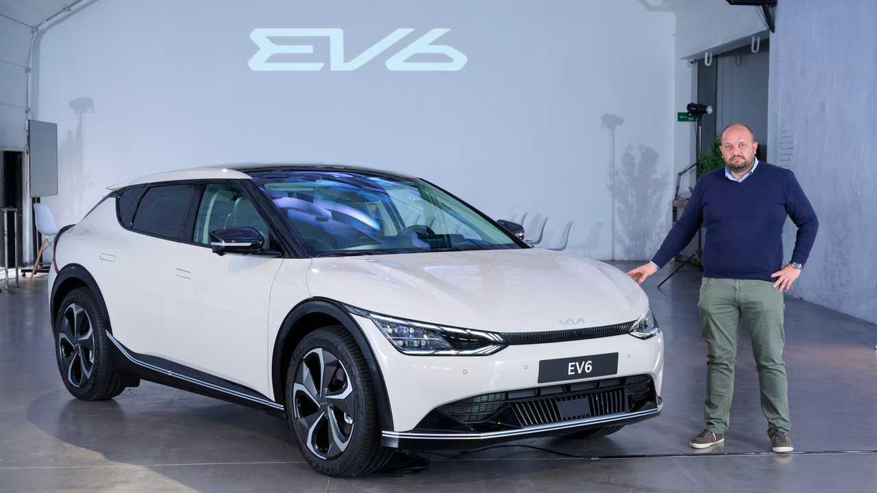 Kia EV6 2021 presentación estática