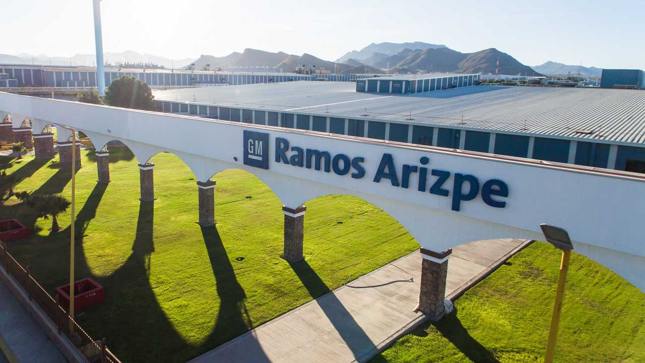 GM's Ramos Arizpe Manufacturing Complex in Mexico