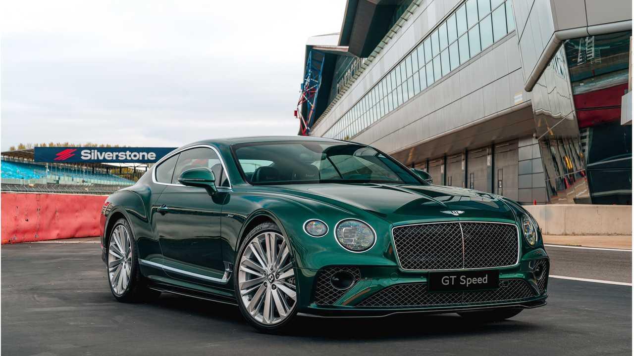 2022 Bentley Continental GT Speed Внешняя передняя четверть