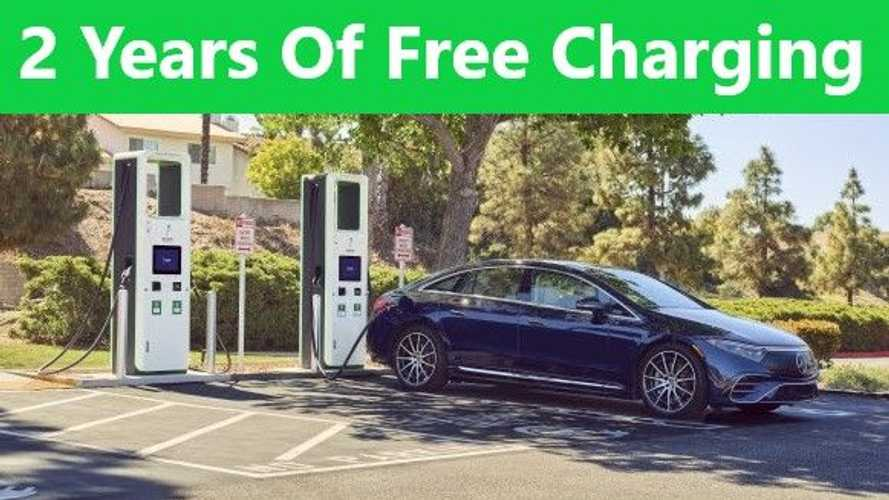 Mercedes EQS To Come With 2 Years Of Free Charging On The Electrify America Network