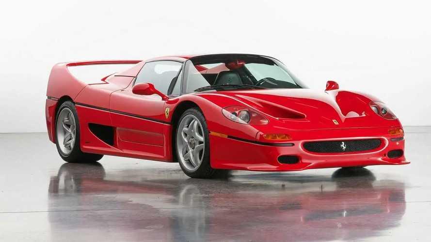 Subasta de un Ferrari F50: ¿qué precio alcanzará?