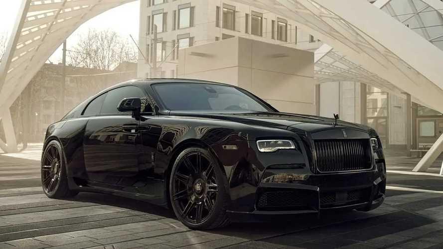 Dieser Rolls-Royce Black Badge Wraith von Spofec hat 717 PS
