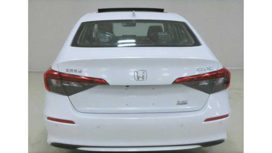 2022 Honda Civic Saloon production version for China