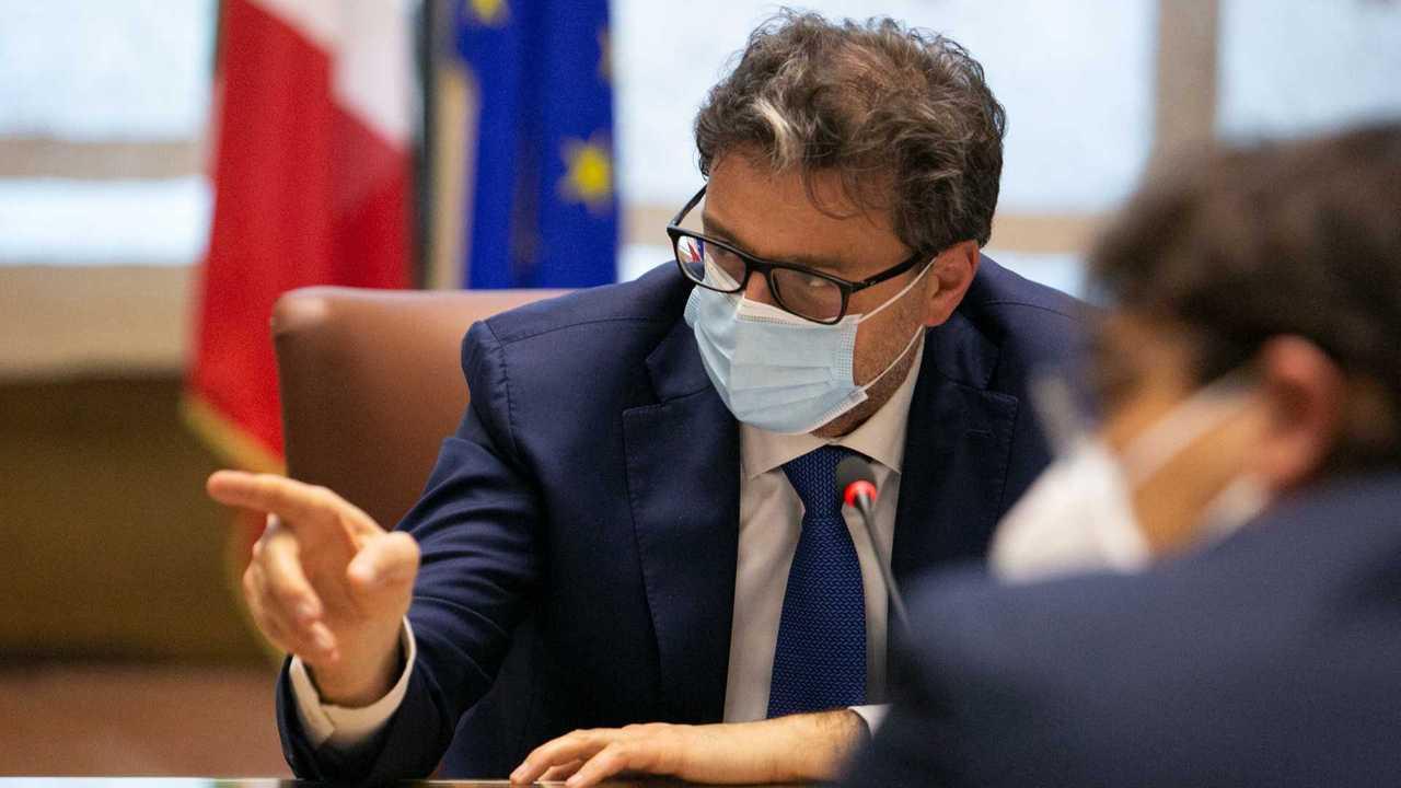 Giancarlo Giorgetti, ministro dello Sviluppo economico