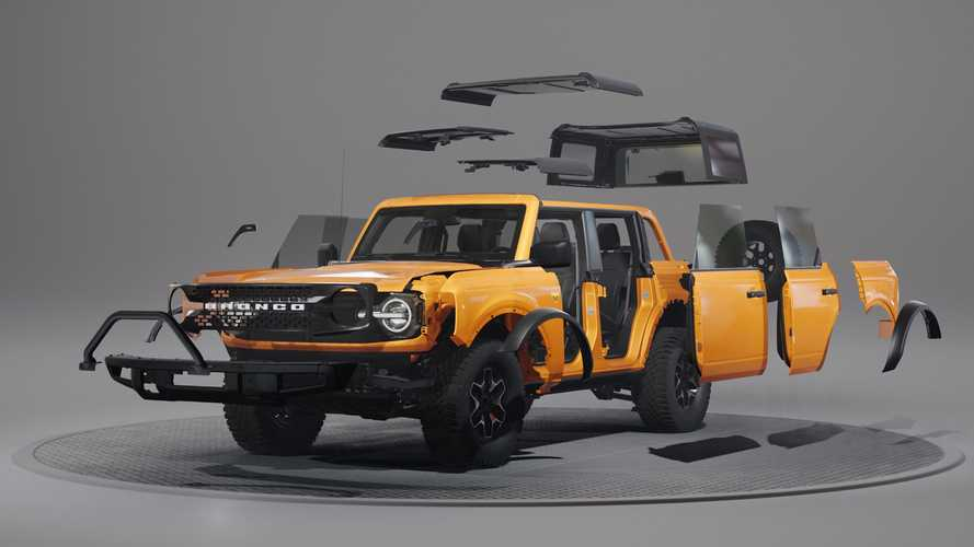 2021 Ford Bronco Modularity Feature