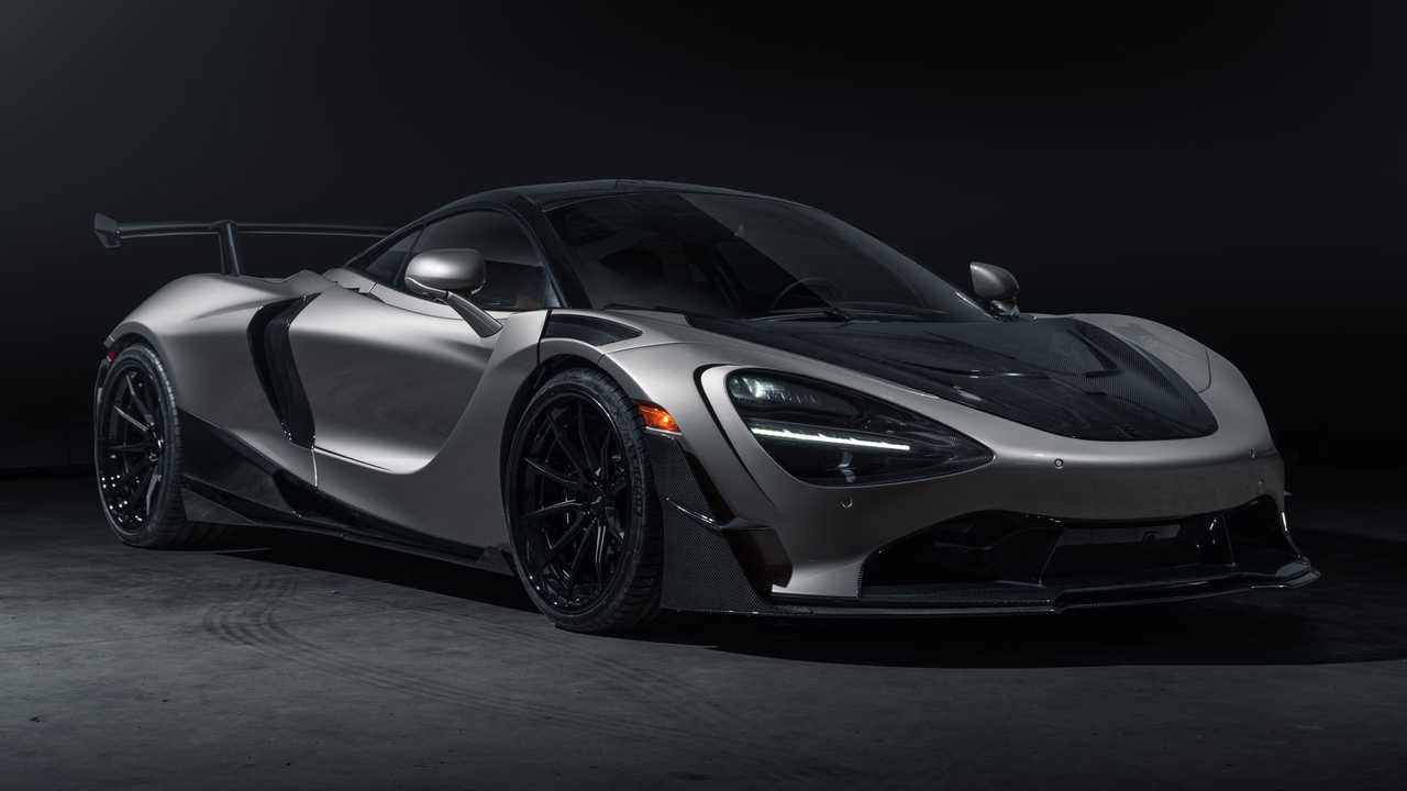 The SWAE McLaren 720S Widebody is a customized supercar.
