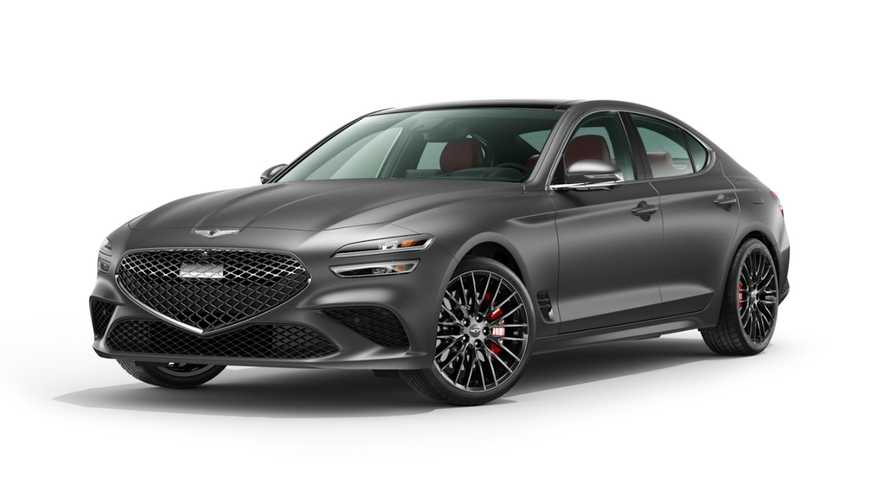 Genesis G70 Launch Edition 2022