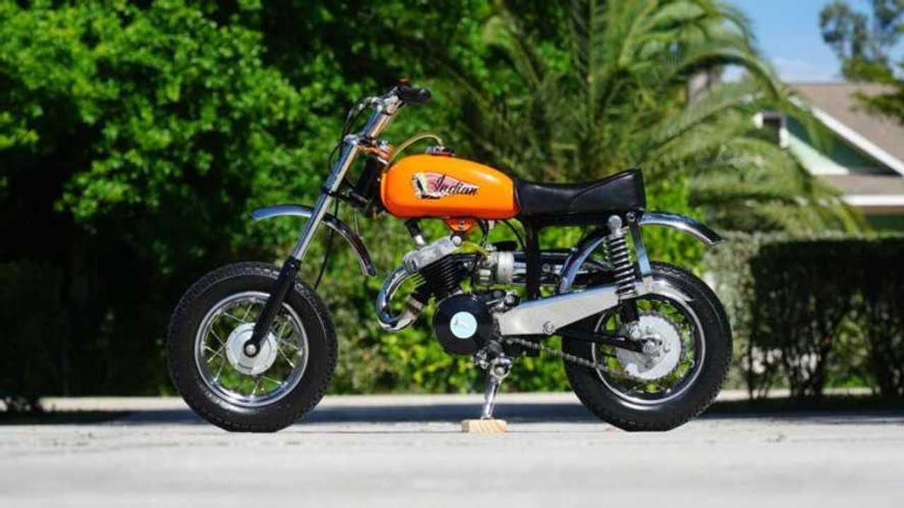 1969 Indian MM5A Mini Bike - Side, Left