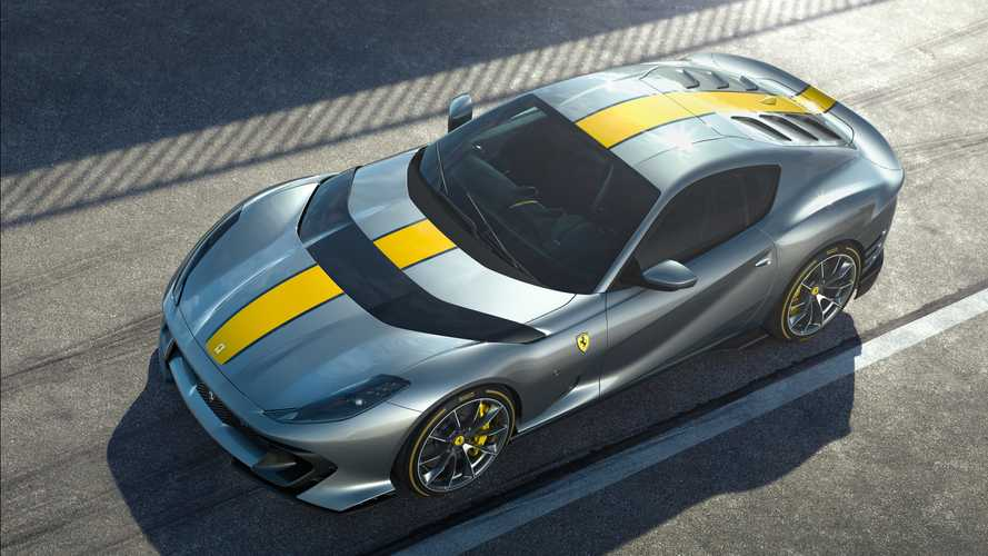 Ferrari 812 Special Version Revealed With 830 Horsepower At 9,500 RPM